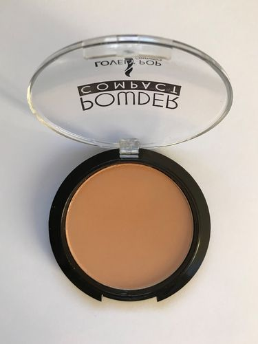 Lovely Pop Cosmetics Compact poeder 05 natuur beige - warme, medium tint - getinte huid