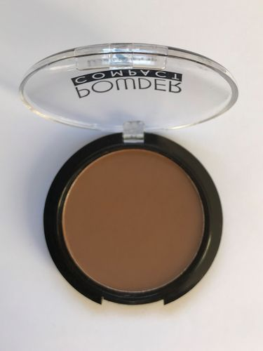 Lovely Pop Cosmetics Compact poeder 09 chocolade bruin - donkerste tint - donkere huid
